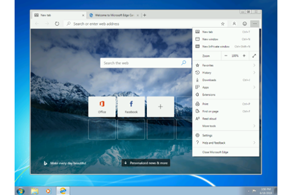 Microsoft launches Edge Insider Canary Channel for Windows 7, Windows 8 and Windows 8.1