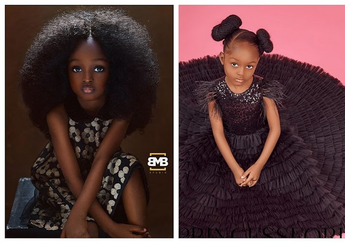 The 'world's most beautiful girl' from Nigeria finds big break in international modelling