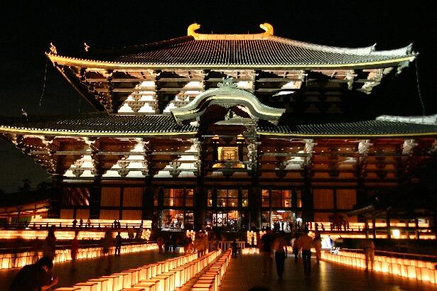 Mantouroue (Lantern Festival), Toudaiji Temple, Nara