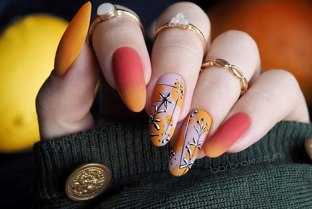 Jesienne paznokcie hybrydowe | Nails Company
