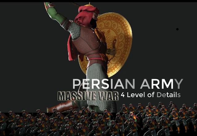 Free Iclone Character - Persian ARMY