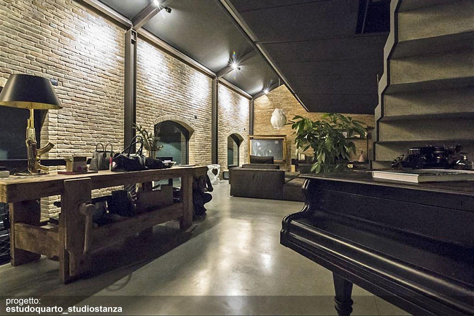 Ristrutturazione Di Un Loft Open Space