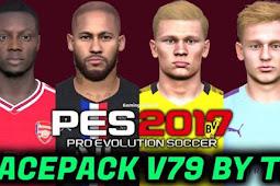 New Facepack V.79 For - PES 2017
