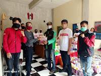 Organ Muda Marhaenis Indonesia Malang Raya Bantu Masyarakat yang Terdampak Covid-19