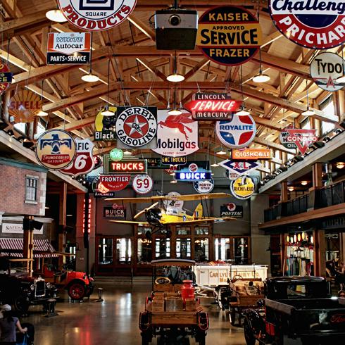 Gasoline Alley Heritage Park Calgary Alberta