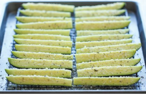 BAKED PARMESAN ZUCCHINI #vegetarian #parmesan #mushroom #breakfas #food