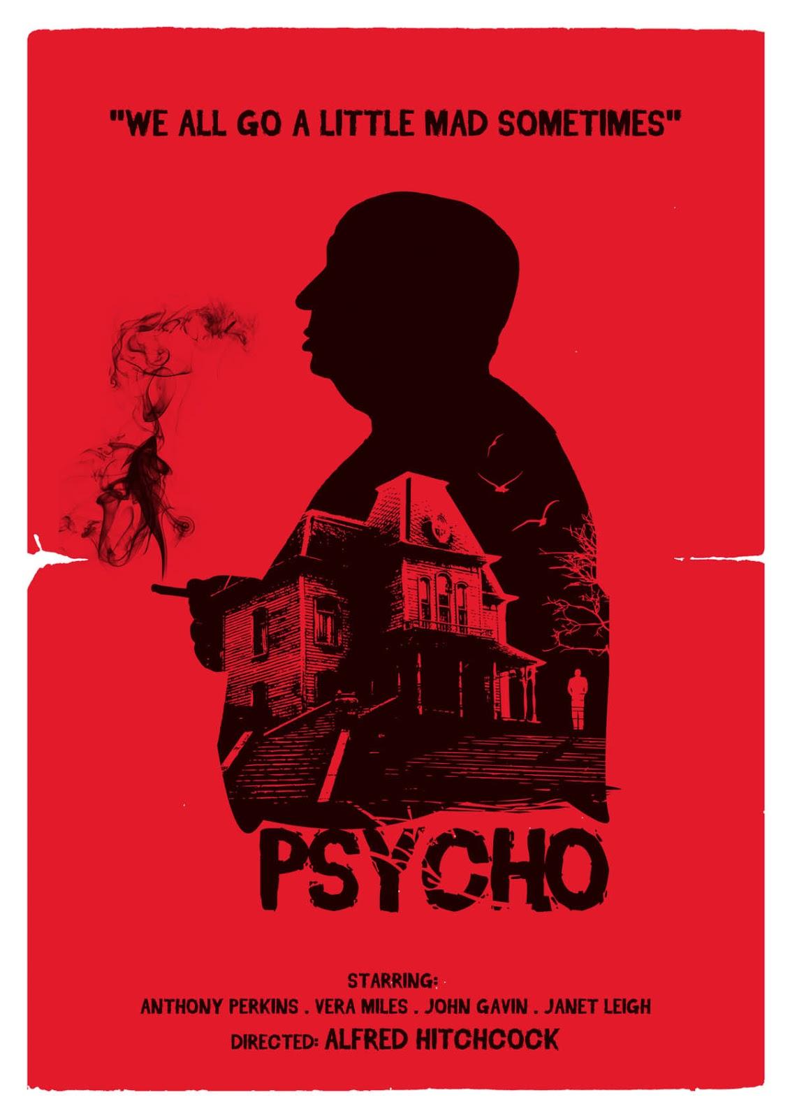 Hitchcock's 1960 'Psycho' film analysis