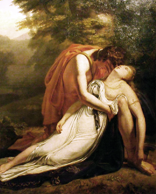 Ary Scheffer, Classical mythology, Greek mythology, Roman mythology, mythological Art Paintings, Myths and Legends