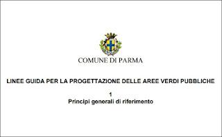 Comune di Parma: linee guida per la progettazione delle aree verdi pubbliche