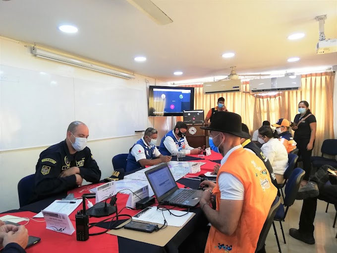 Más de 51 mil samarios participaron en el Noveno Simulacro Nacional de Emergencias
