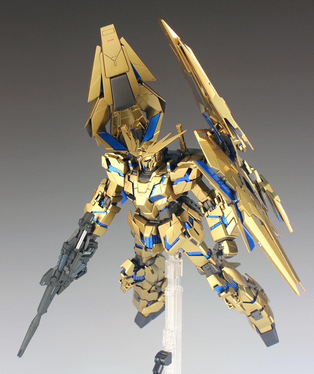 韓國網作品金色版MG UNICORN GUNDAM 3號機 - 高達同好聚 - Toysdaily 玩具日報 - Powered by Discuz!