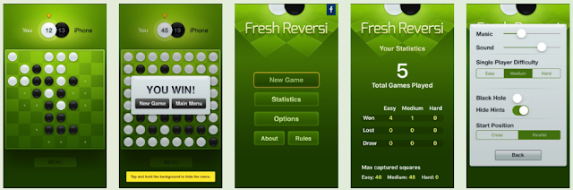 Download these 3 iPhone apps now for free: Fresh Reversi