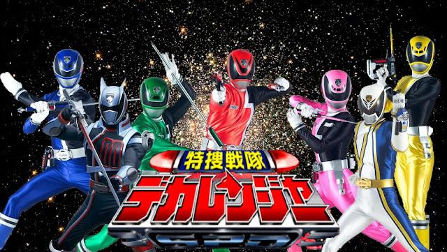 Tokusou Sentai Dekaranger Sub Indo