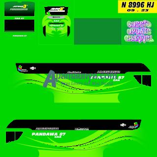 Livery bus pandawa 87 srikandi shd