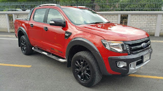FORD RANGER 3.2 WILDTRAK DOUBLE CAB 4WD ปี2014  กง5763