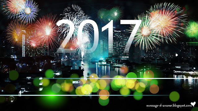 Message d'amour bonne année 2017