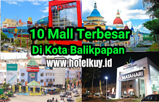 10 Mall terbesar di Balikpapan