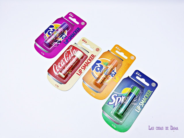 Lip Smacker Coca-Cola Single Balm blister lipcare bálsamo labial