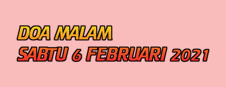 Doa, Doa Katolik, Doa Malam, Sabtu, Doa Malam Sabtu 6 Februari 2021