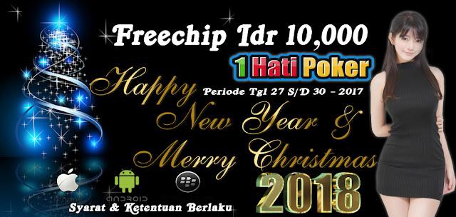 Freebet Gratis 10,000 Dari 1HatiPoker