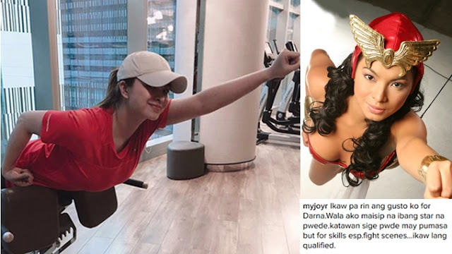 """Netizens Approved -- """"Angel Locsin is the Best Darna Ever! """" - Celia Rodriguez"""