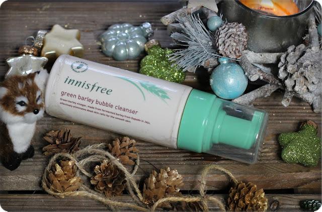 Oczyszczanie zbożem - INNISFREE Green Barley Bubble Cleanser