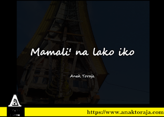 Kata-kata Rindu Bahasa Toraja