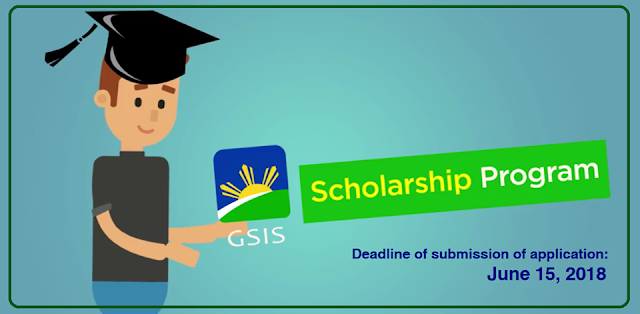 Apply your child or dependent to the GSIS Scholarship Program