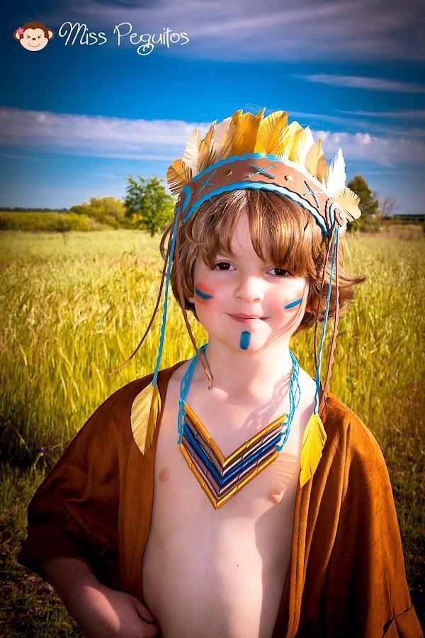 custome indien disfraz indio diy