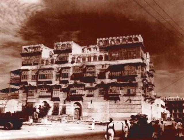 بيت البغدادي في جدة والذي صارمكتبا لشركة النفط الامريكية 1940م