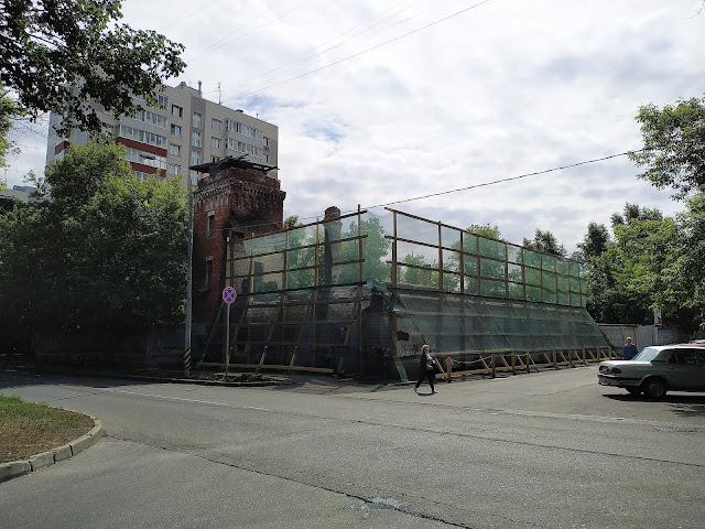 Пожарная часть в Преображенском