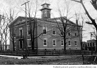 Image of 1865 courthouse at Ohio County, Kentucky.