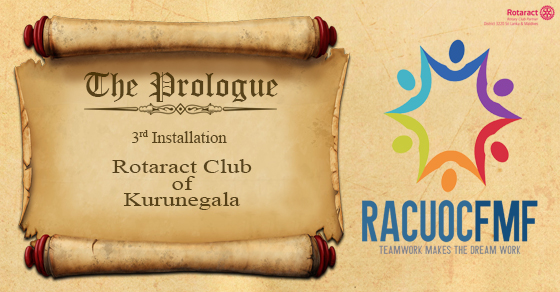 The 3rd Installation Ceremony of the Rotaract Club of Kurunegala ...