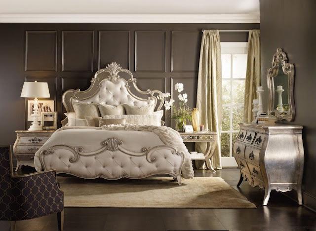 Mẫu giường ngủ phong cách cổ điển