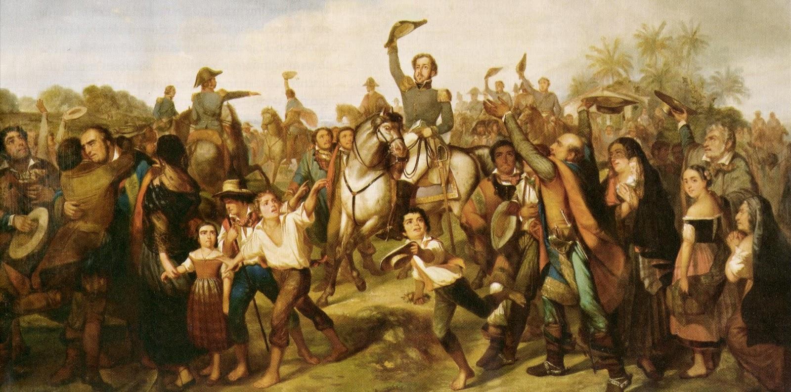 Independência do Brasil em 1822