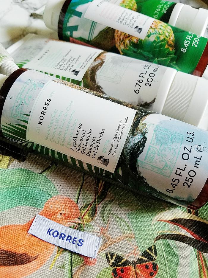 NEU: KORRES Sommer Körper Pflege mit Kokos & Ananas