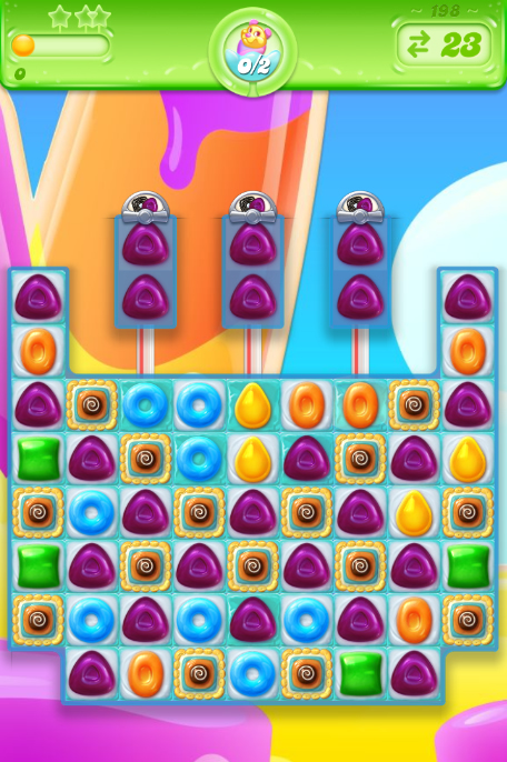 Candy Crush Jelly Saga 198