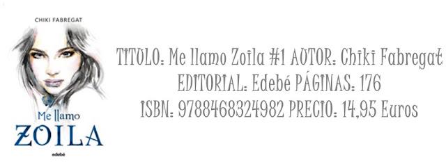 Reseña: Me llamo Zoila