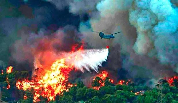 Ανάρτηση πυραγού: Η κλιματική κρίση φταίει και είστε άσχετοι  μετά την πανδημία γίνατε αναλυτές πυρκαγιών(!)