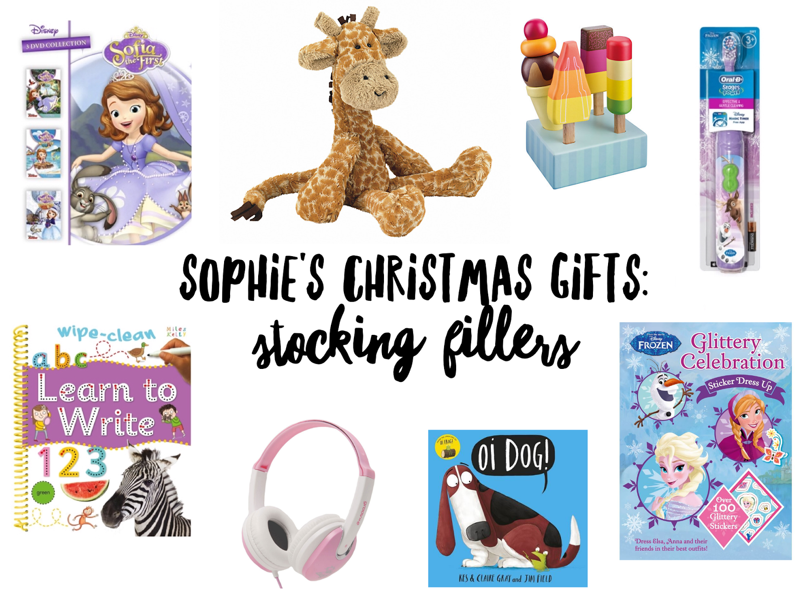 Sophie\'s Christmas Gifts 2016: Stocking Fillers | Sophie Ella and Me