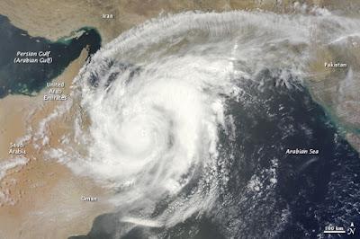 Ciclones en Arabia, Ciclón Phet