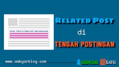 Cara Membuat Related Post di Tengah Postingan ala Igniel