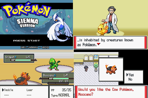 Pokemon Sienna GBA ROM Download