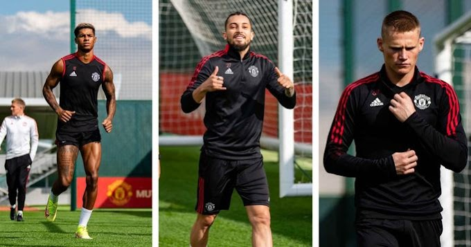 Rashford back in training for Manchester United ahead of West Ham
