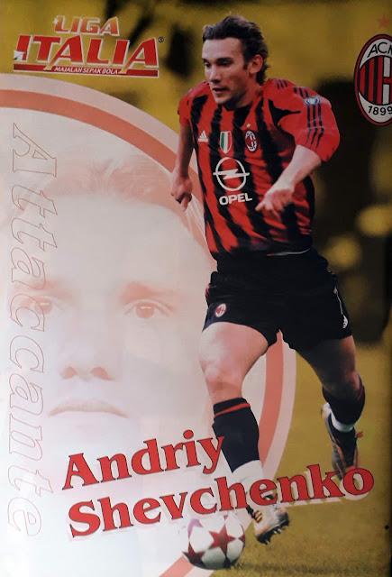 ANDRIY SHEVCHENKO OF AC MILAN