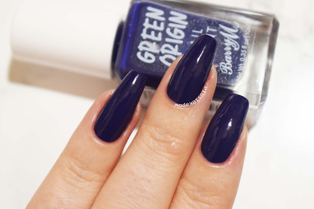 Barry M Green Origin collection swatches Night Sky