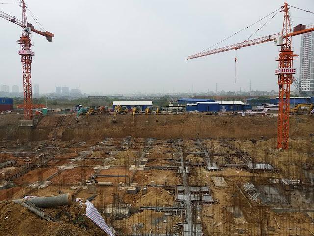 Tiến độ xây dựng dự án chung cư UDIC Westlake Võ Chí Công