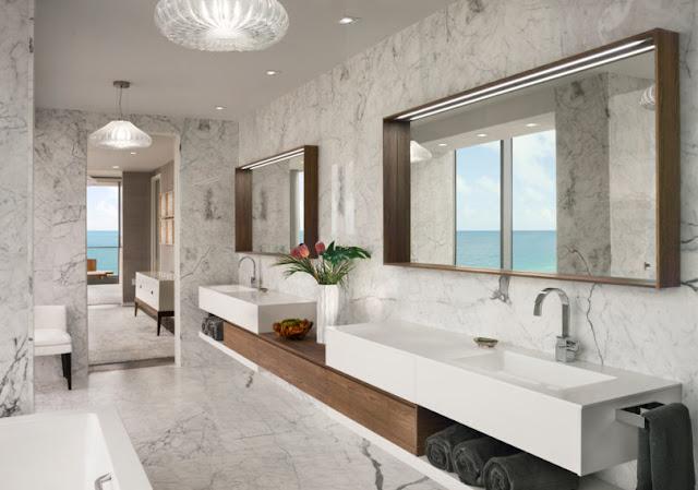Smiros Miami Beach Penthouse 13 Master Bathroom