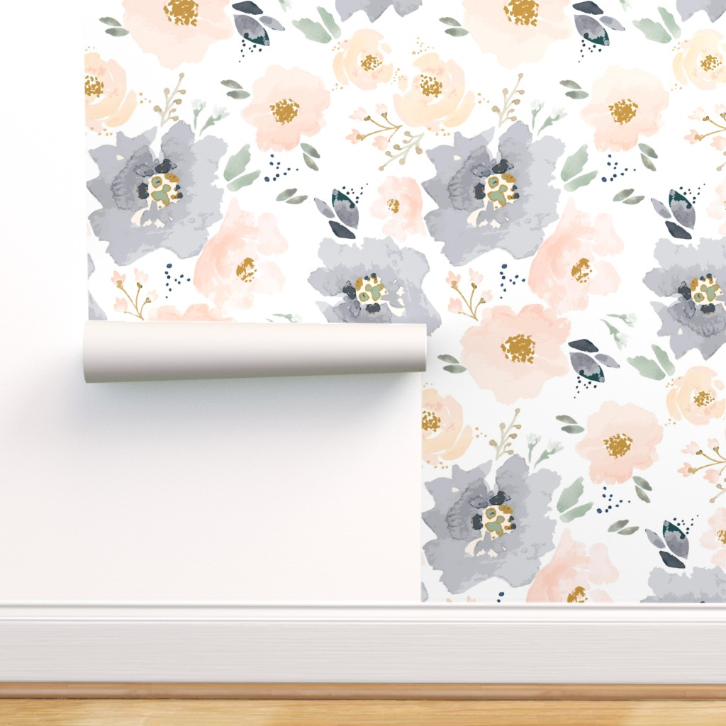 Fifteen Beautiful Peel And Stick Wallpaper Options From Thrifty