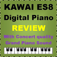 Kawai ES8 digital piano / for 2020